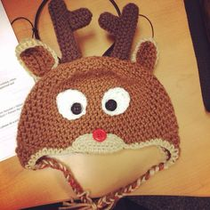 Rudolph hat on Etsy, $30.00