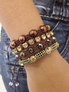 Bracelets shamballas