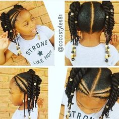What is natural hair? In a strict word definition, natural hair is hair that has not been altered by rel… Lil Girl Hairstyles, Black Kids Hairstyles, Natural Hairstyles For Kids, Kids Braided Hairstyles, Princess Hairstyles, Hairstyles Haircuts, Natural Hair Styles, Short Hair Styles, Teenage Hairstyles