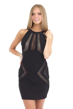 The exposed zipper and fun pattern on this dress make it casual and dressy!