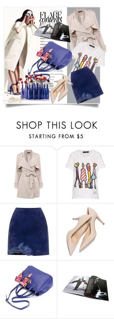 """Untitled #2944"" by kristina-biskup ❤ liked on Polyvore featuring Giles and Blumarine"