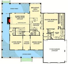 Plan 32499WP: Farmhouse Country Classic