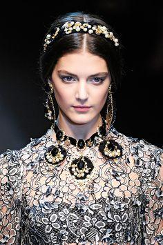 Dolce Gabbana осень - зима 2012-2013