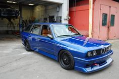 Custom Built E30 BMW M3 Touring with E36 M3's Straight-Six