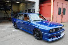 Custom Built E30 BMW M3 Touring with E36 M3's Straight-Six