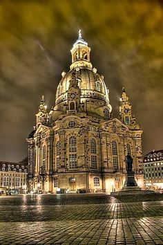 Dresden Frauenkirche, Germany - Lovely, faeirie tale-like place.  And people so very nice.