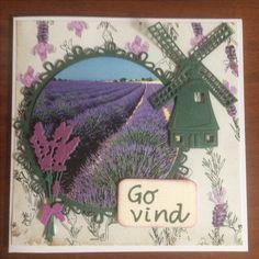 Kort / card Mølle / mill Lavendel / lavender Toppers
