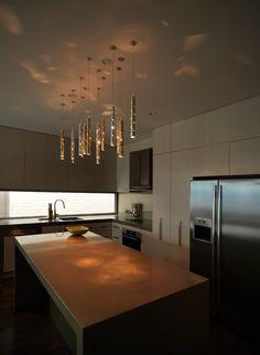 Rain. Light drops. - modern - kitchen lighting and cabinet lighting - melbourne - ilanel. light life.