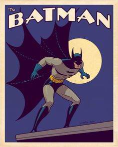 Vintage Style Batman