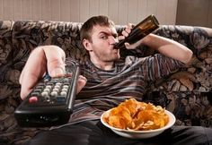 Bier Chips Fernseher