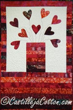 Jar of Hearts Quilt ... by DianeMcGregor | Quilting Pattern