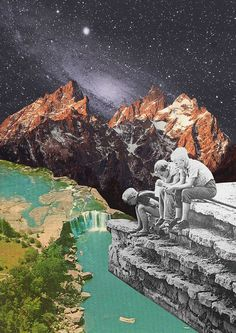 Untitled | by Mariano Peccinetti Collage Art