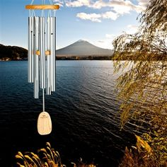 Chimes of Kyoto.  Tuned to an ancient Japanese scale found on early zither instruments. #windchimes