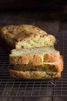 Savory Gluten Free Zucchini Bread - Gluten-Free on a Shoestring