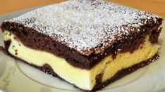 Švýcarská roláda Hurikán, naprostá dobrota recept | iRecept.cz Cookie Recipes, Dessert Recipes, Desserts, Slovak Recipes, Good Food, Yummy Food, Sweets Cake, Sweet And Salty, Mini Cakes