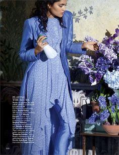 Natasha Ramachandran by Erik Madigan Heck for Vogue India