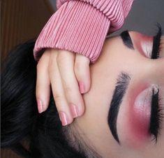 (notitle) - Make-Up - glitter nails summer Pretty Makeup, Love Makeup, Makeup Inspo, Makeup Inspiration, Fancy Makeup, Makeup Style, Pink Eye Makeup, Pink Eyeshadow, Hair Makeup