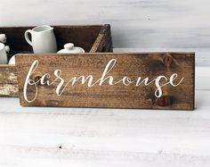 Farmhouse Sign, Modern Farmhouse Decor, Rustic Farmhouse Sign, Farmhouse Decor, Farmhouse Wall Decor, Rustic Home Decor, Rustic Signs,