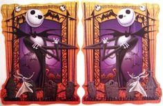 NIGHTMARE BEFORE CHRISTMAS 2 posters JACK Skellington HALLOWEEN PARTY on eBay!