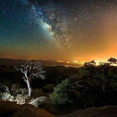 Milky Way over Tucson.