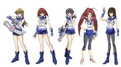 """The Main obelisk blue girls from yugioh gx Alexis Rhodes- the queen of obelisk blue,she is a top duelist and uses a """"Cyber Girl/Angel Deck"""" Jasmine - Alexis and Mindy's Room mate,she is very boy cr..."""