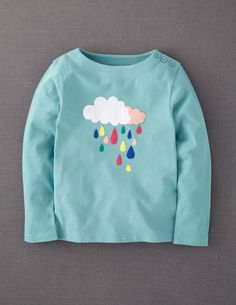 Colour Pop Appliqué T-shirt (link to Mini Boden retail shirt)