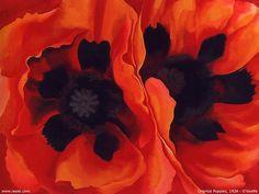 Georgia O'Keeffe Oriental Poppies Collection of the Frederick R. Weisman Art Museum at the University of Minnesota, Minneapolis © 2016 Georgia O'Keeffe Museum/DACS, London Georgia O'keeffe, Alfred Stieglitz, Arte Floral, Georgia O Keeffe Paintings, Weisman Art Museum, Silkscreen, Digital Foto, Famous Artists, Paintings Famous