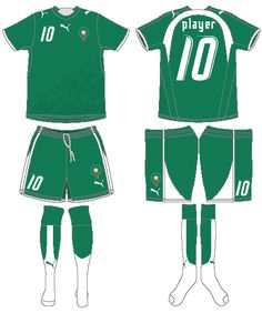 Morocco - Home Jersey (2006)