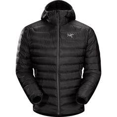 Arc'teryx Cerium LT Hooded Down Jacket - Men'sBlack