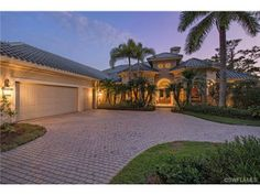 French Inspired House for Sale in Colliers Reserve, Naples, FL