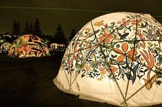 if we end up making a geodesic dome it would be cool to paint it:)