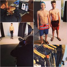 Behind the scenes of our SS15 E-Commerce photoshoot! Be sure to find your Spring/Summer styles at www.pointzero.ca