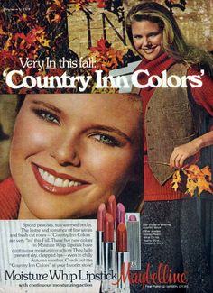 Maybelline - 1978 I remember this ad!