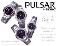 Pulsar Watches at Fine Things Jewelry