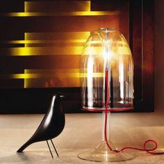 741e36cfc Cattelan Italia Vidrio Transparente, Lámparas De Mesa, Luces, Diseño De  Interiores, Dormitorios