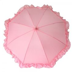 Click on the image to find out this pink #umbrella for #children is made in a perfect size, to keep your little #girl happy and dry. https://www.rosemarie-schulz.eu/en/kids-umbrellas/443-children-umbrella-ruffle-pink.html