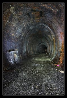 Neidpath Train Tunnel Scotland