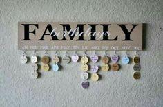Family Birthdays...