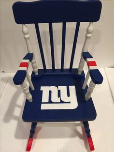 New York Giants Chair   NFL Kids Chair   New York Giants Furniture   Giants  Gift   New York Giants Baby   New York Giants Kids