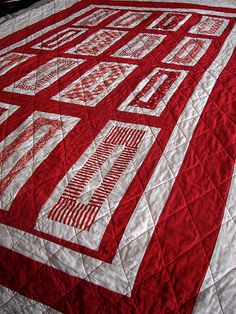 o is for oklahoma quilt by Jacquie G, via Flickr