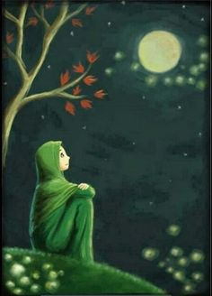 Muslima Anime Muslim Islamic Art Islamic Cartoon