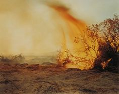 Desert fire #77, 1984 Richard Misrach
