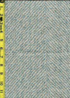 img9732 from LotsOFabric.com! A wide, horizontal herringbone pattern in off white and aqua blue green. Order swatches online or shop the Fabric Shack Home Decor collection in Waynesville, Ohio. #drapery #upholstery #bedding #throwpillow #homedecor #interiordesign #inspo