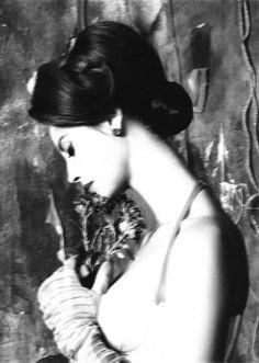 Vogue Italia, July 2010  photographer: Steven Meisel.  Model: Christy Turlington.