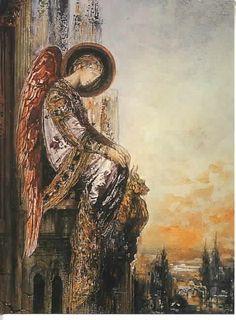 Angel Traveller by Gustave Moreau