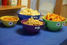 Monster party bowls