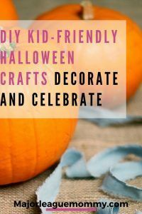 Looking for some fun crafts to do with the family this Halloween? Check out this roundup of DIY Halloween crafts on majorleaguemommy.com