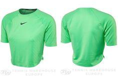 Nike Spring Premier Crop Top #ausopen #2017fashion #nike #bouchard