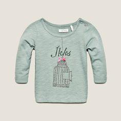 Camiseta bebé IKKS (XC10050) | Ropa Bebé Niña Invierno 2013