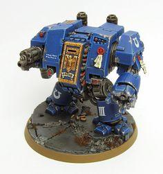 Showcase: Ultramarine Dreadnought
